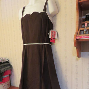 Brown sundress. Size 18. NWT. $18